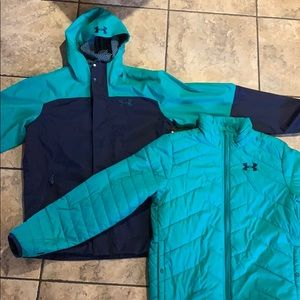 Under Armour 2-in-1 Coldgear Infrared Jacket